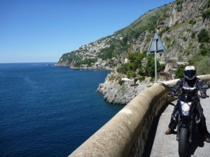 Riding the Amalfi Coast, Italy