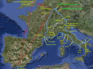 Europe on 2 wheels 2010 – Overview