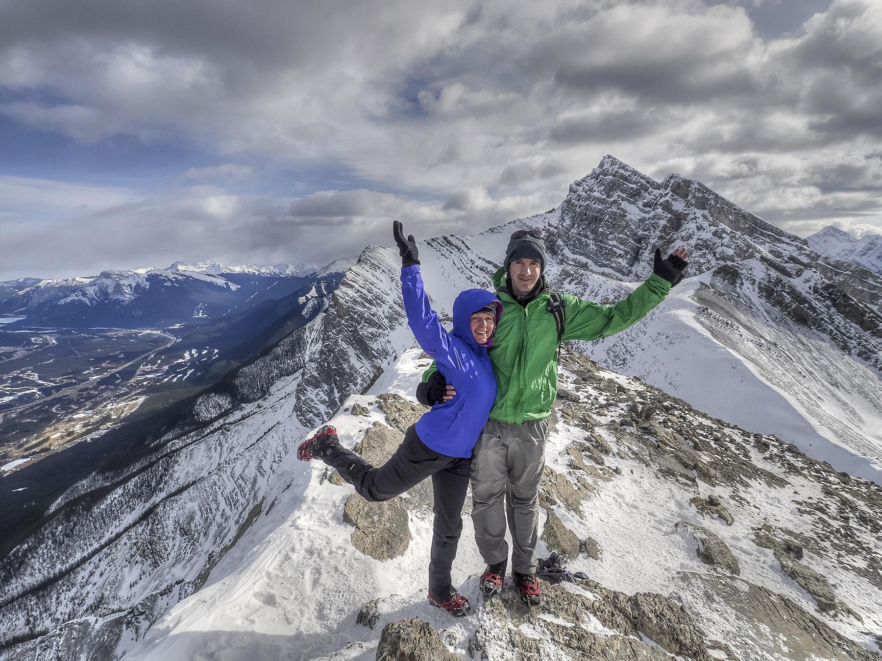 Ha Ling Peak, Canmore, Alberta