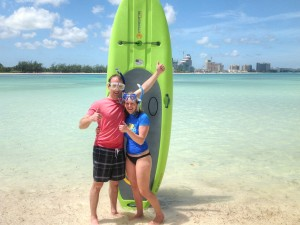 Stunning Waters in The Bahamas – SUP & snorkel tour   PappaSurf