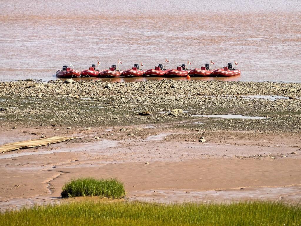 Shubenacadie River - Tidal bore rafting