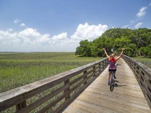 Bicycle Bliss: Jekyll Island, Georgia