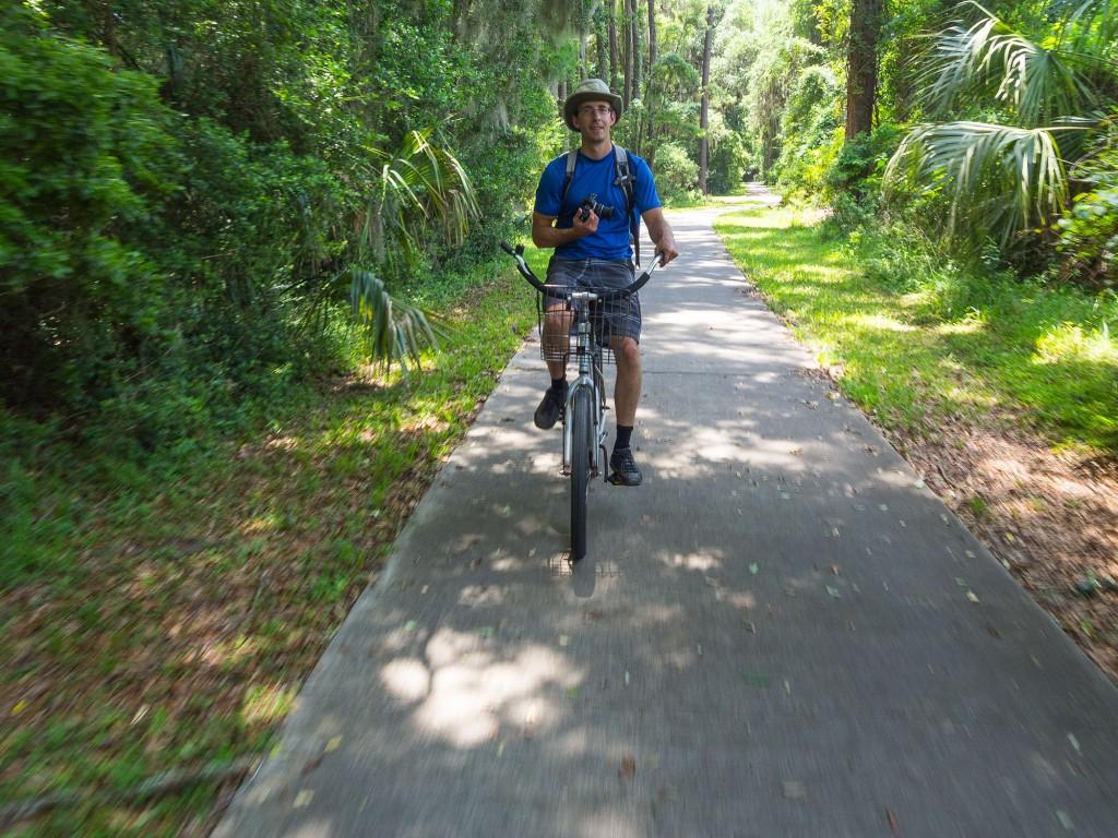 Jekyll Island bike path