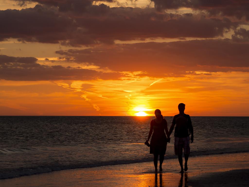 Lido Key Beach sunset