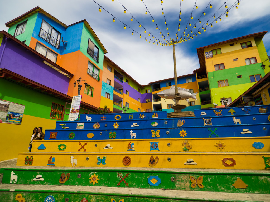 Guatape. Colombia