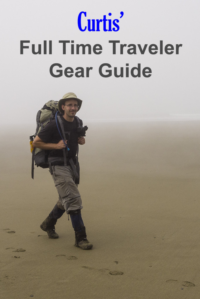 Curtis' Full Time Traveler Gear Guide | Chasing Adventure