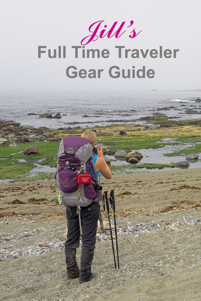 Jill's Full Time Traveler Gear Guide | Chasing Adventure